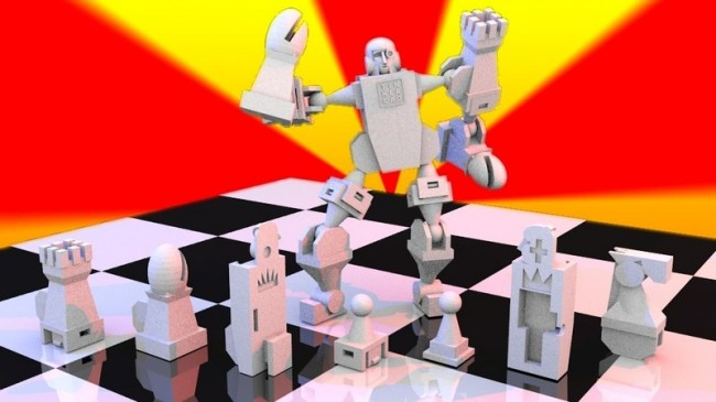 Tinkercad Chess Set Design Winner