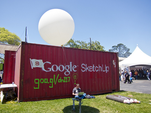 Google Sketchup at Maker Faire