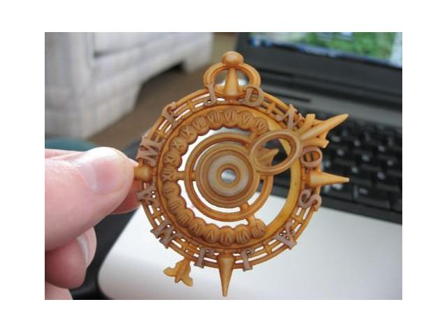 3D Printed Nocturnal Timepiece