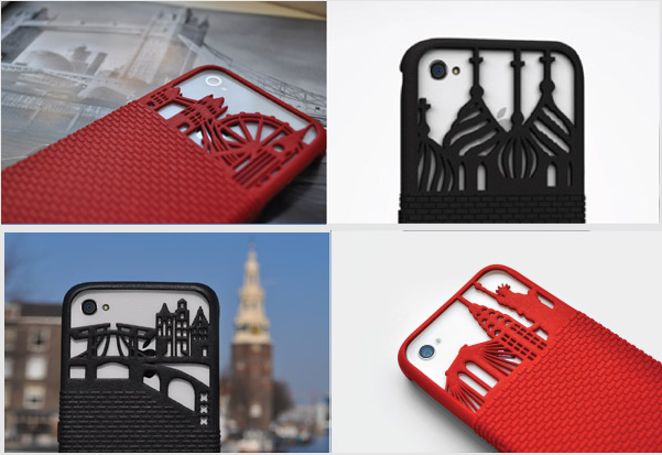 FreshFiber Personalized 3D Printed iPhone Cases