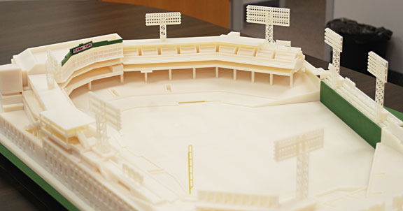 3D Printed Fenway Stadium