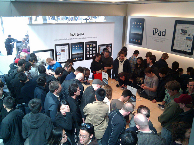 iPad Crowd