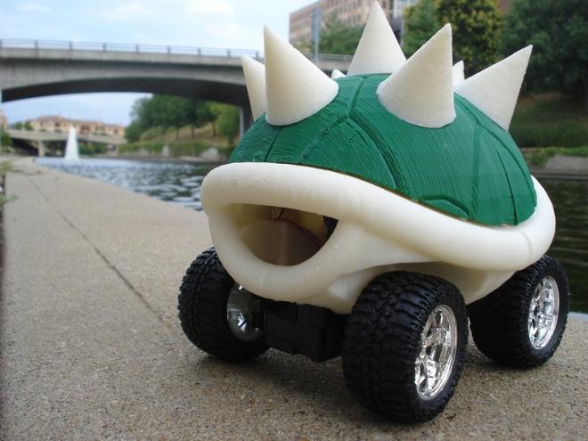 MakerBot Mario Kart Koopa Racer