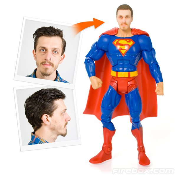 Personalized Superhero Action Figure