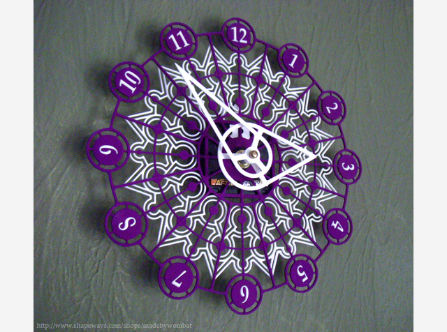 Kaleidescope Clock