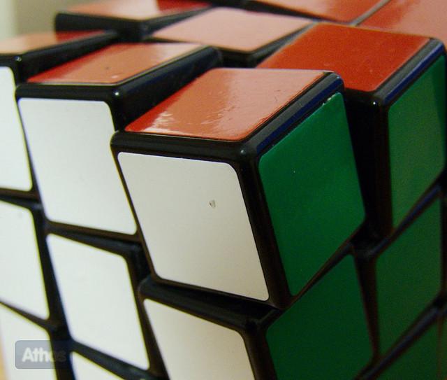 3D Printed Rubiks Cube