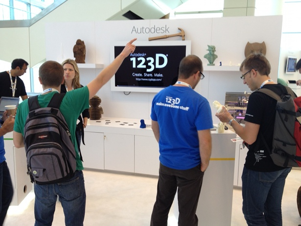Autodesk 123D at Google IO