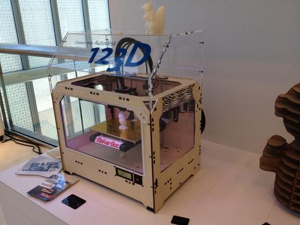 Autodesk 123D MakerBot Google IO