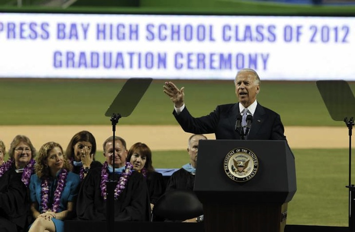Joe Biden Commencement Speech 3D Printing