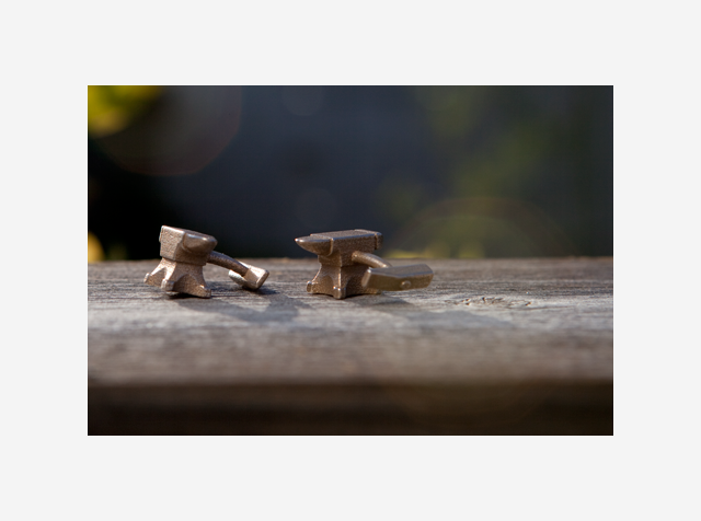 Shapeways Anvil Cufflinks