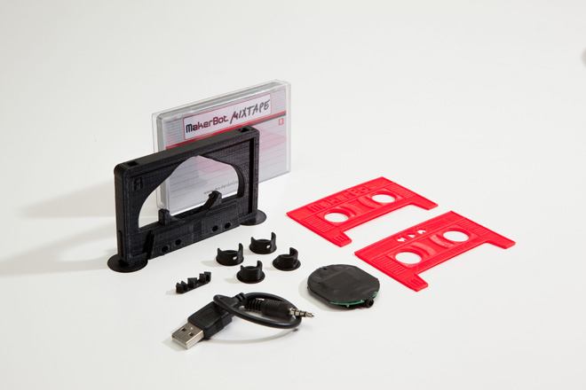 MakerBot Mixtape Unassembled
