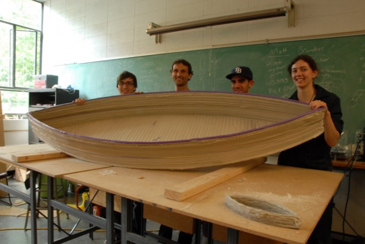 UW 3D Print Boat Recycled