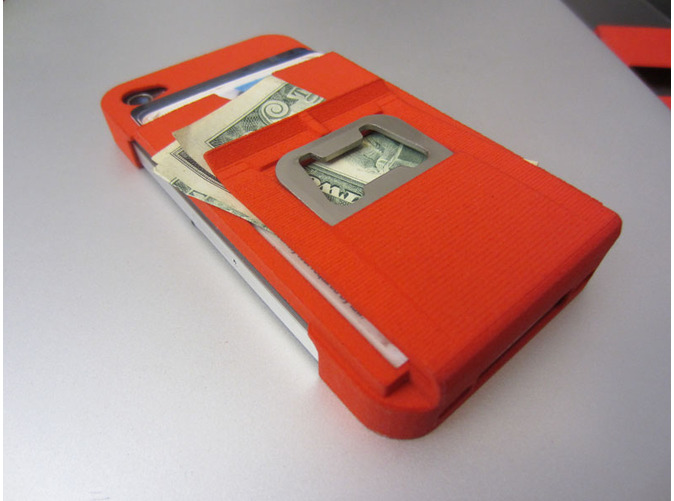 3D Printed iPhone Case Beer Opener