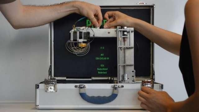 PopFab Portable 3D Printer