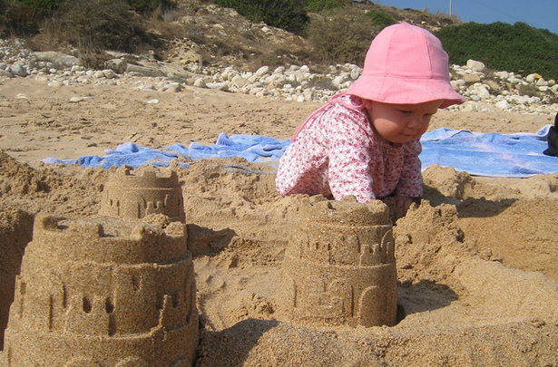 3D Printed Sand Castle
