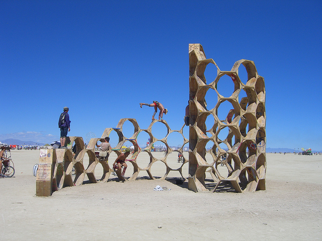 Burning Man 3D Printing
