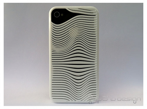 iPhone Case Ripples Shapeways