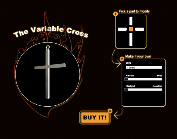 Variable Cross 3D Printing