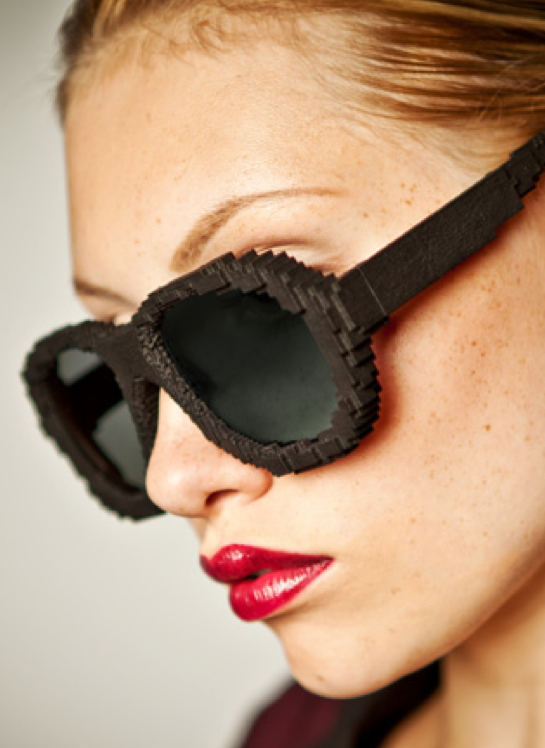 Protos Pixelated Eyewear 3D Printing