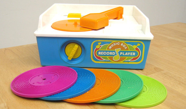Fisher Price 3D Printing Record Player