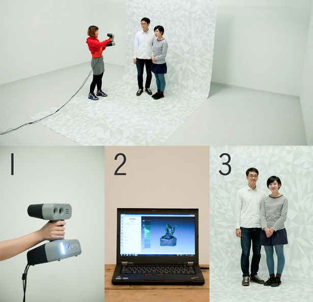 3D Printing Photo Booth Process
