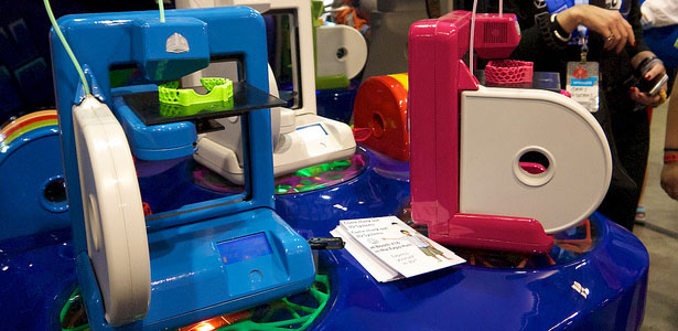 Cubify Robotics Competition 3D Printing