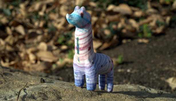 Crayon Creatures Llama