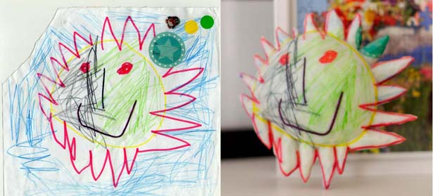 Crayon Creatures Sun