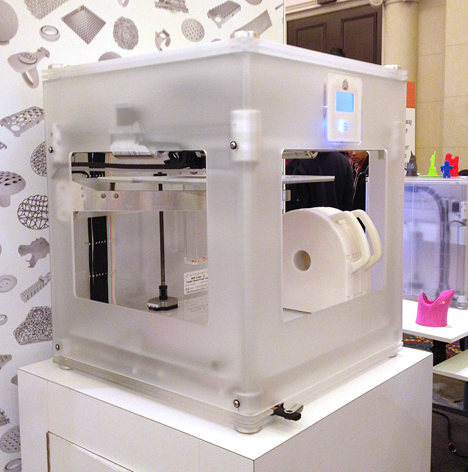 CES 2013 Cubify CubeX 3D Printer