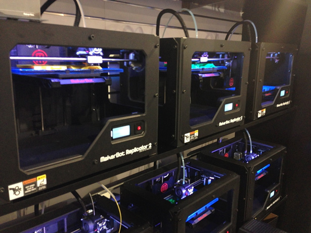CES 2013 MakerBot 3D Printers