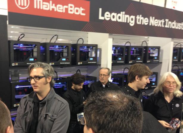 CES 2013 MakerBot 3D Printing Bre Pettis