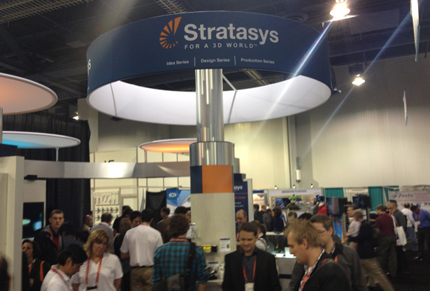 CES 2013 Stratasys Objet Booth
