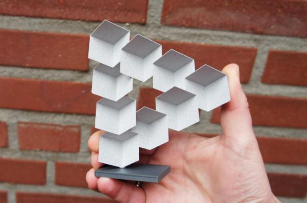 Penrose Triangle 3D Printing