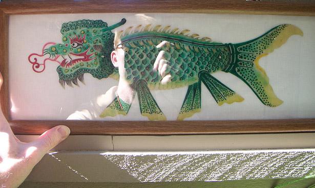 Dragon Fish 3D Printed Armor