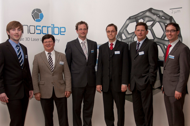 Nanoscribe 3D Printing Team