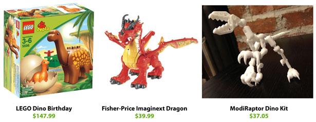 3D Printed Toys Comparison