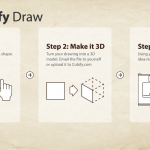 Cubify Draw 3D Printing App