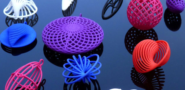 MixeeLabs 3D Printed Quark Jewelry