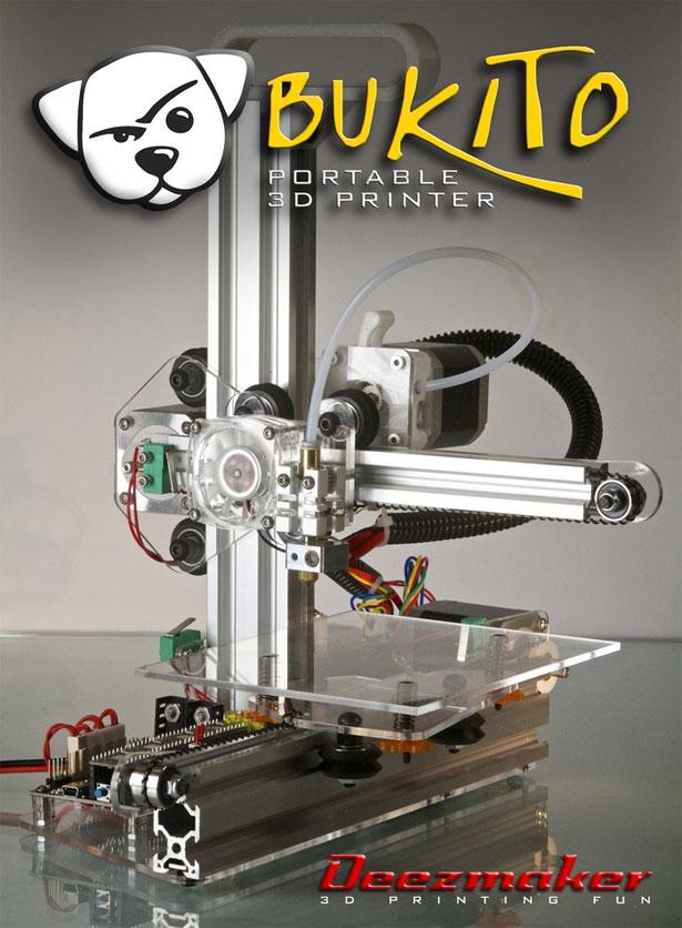 Bukito 3D Printer Kickstarter