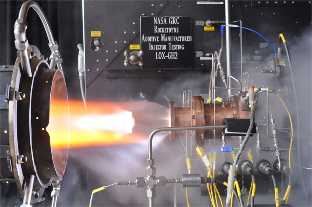 NASA 3D Printed Rocket Engine Injector