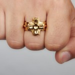 Shapeways Gold Plated Brass 3D Printing
