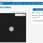 Mixee Labs 3D Printed Cufflinks