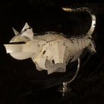 Jeff de Boer Gothic Bat Cat