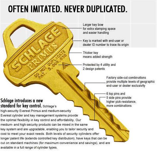 3D Printing Keys Schlage MIT