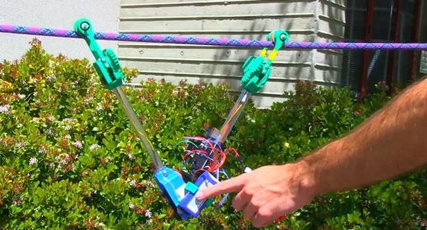 3D Printed Robot SkySweeper
