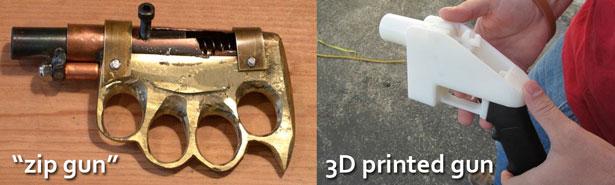 3D printed gun zip gun