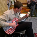 Inside 3D Printing Expo Guitar