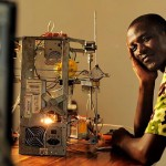 Afate Gnikou Recycled 3D Printer Africa