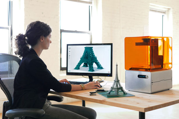 Formlabs Raises Venture Funding Form 1 3D Printer