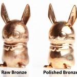 Shapeways Bronze Material 3D Printing
